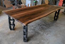 Western Conference Table Custom Salvaged Hardwood Furniture Gallery Edge Furniture