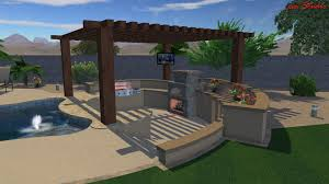 best design features for an outdoor kitchen