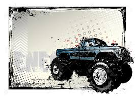 jeep vector monster truck poster royalty free cliparts vectors and stock