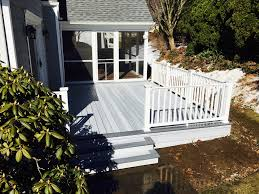 decks composite decks and railings best in backyards