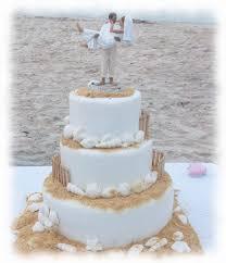 beach cake toppers wedding cakes wedding corners