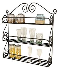 Kitchen Wall Shelves by Modern Metal Kitchen Shelves Amazing Home Decor