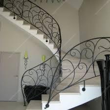 Fer Forge Stairs Design Res D Escalier En Fer Forgé Style Nouveau Modèle Liane