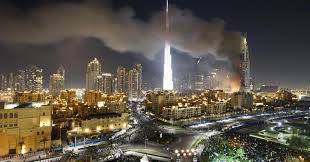 massive fire breaks out in tower near dubai u0027s new year u0027s fireworks