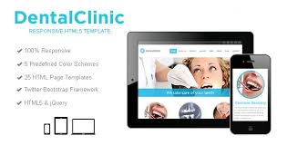 dental clinic medical template html bootstrap template