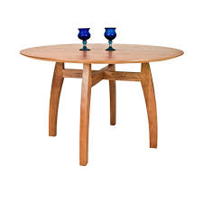 Modern Pedestal Table by Solid Wood Dining Tables Vermont Woods Studios