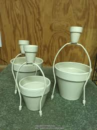diy mini flower pot trellis garden org