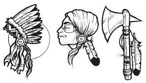 american indian 1 87 american indian tattoo design art flash