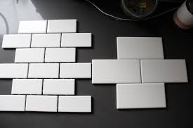 Subway Tile Backsplash Ideas For The Kitchen by Interior Coastal Inspired Kitchen Design White Subway Tile