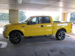 Ford F 150 Yellow Truck - bigtdh87 2004 ford f150 super cabstx styleside pickup 4d 5 1 2 ft