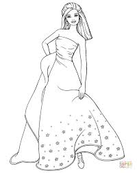 coloring pages barbie coloring pages free blueoceanreef
