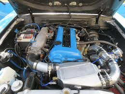 Ford Escape Engine Swap - this ford mustang ii mach 1 has a turbo nissan silvia engine the