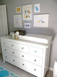 Metal Changing Table Ikea Baby Dresser Magnificent Modern Design White Painted