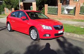 my12 holden cruze cdx diesel hatch review 3 on the tree