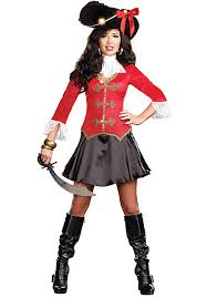 Captain Hook Halloween Costume Captain Hook Costume Ladies Fancy Dress Escapade Uk
