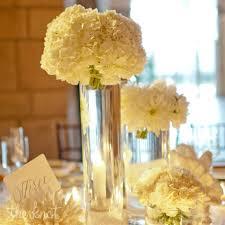 White Hydrangea Centerpiece by Stunning White Hydrangea Centerpieces Wedding Florals