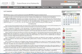 reglas de operacion prospera 2016 publican en el diario oficial de la federación el decreto