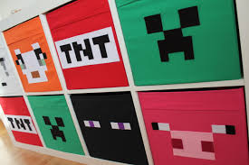 Ikea Storage Bins Minecraft Storage Boxes The Perfect Finishing Touches For My