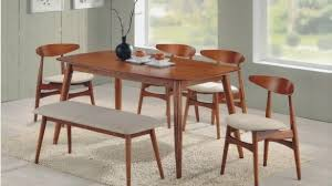 mid century expandable dining table broyhill brasilia dining table round mid century modern walnut 3