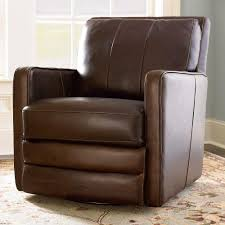 Oversized Swivel Rocker Recliner Bishop Swivel Chair By Bassett Furniture Leather Furniture