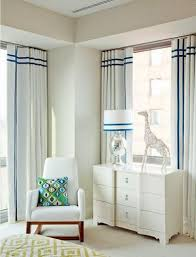 White Curtains With Blue Trim 56 Best Windows Images On Pinterest Curtains Window Coverings