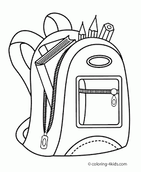 coloring pages school back to page davidedgell pictures color