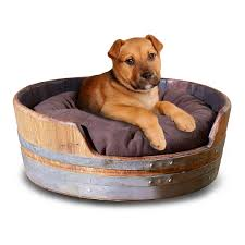 wine barrel pet bed small wine enthusiast