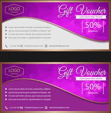 gift voucher samples gift voucher template vector free vector download 15 070 free