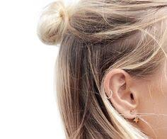 cartilage hoops 16 ear piercing ideas that are bold and beautiful ear piercings