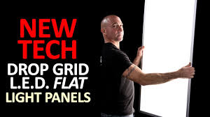 pixi led flat light installation drop grid led flat light panels by udecor youtube
