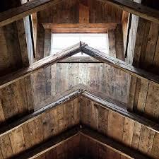 salvaged wood roof decking heritage restorations