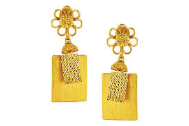 latkan earrings latkan gold earring lbb 0937 earrings jewellery