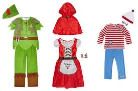 10 world book day costume ideas from tesco asda and sainsbury u0027s