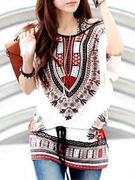 tops online print batwing top e25473 cilory