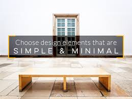 less is more minimalist design principles for visual content