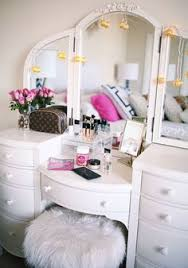 How To Get A Vanity Number Roll Top Desk Makeover By Chelsea Lloyd Vanity Makeup Station