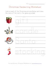 christmas handwriting worksheets mreichert kids worksheets