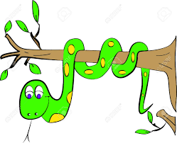 color page snake tree royalty free cliparts vectors and stock