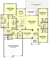 this craftsman style house plan has an amazing floor plan the