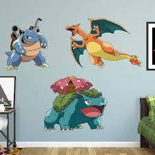 pokemon final evolution collection wall decal shop fatheadA for pokemon final evolution collection fathead wall decal