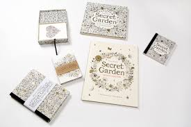 buy secret garden an inky treasure hunt and coloring book book