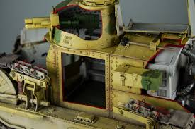 french renault tank boss builds u2013 episode 27 u2013 1 16 renault ft tank u2013 amusing hobby