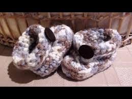 newborn pattern video how to crochet chunky crochet boy baby booties video tutorial