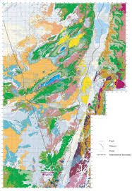 Negev Desert Map Geology Of Israel In The Biblical Framework 2 The Flood Rocks