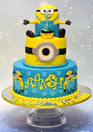 minion birthday cake 1st birthday archives d cake creations