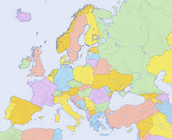 map of us without names map without country names europe maps of usa