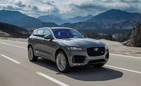jaguar f pace blacked out 2017 jaguar f pace first drive u2013 review u2013 car and driver
