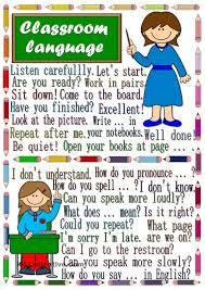 classroom language poster для уроков pinterest classroom