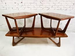 Diy Mid Century Modern Coffee Table Mid Century Modern Slatted Coffee Table Bench Picked Vintage 36