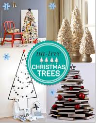 alternative christmas trees from interesting to unusual